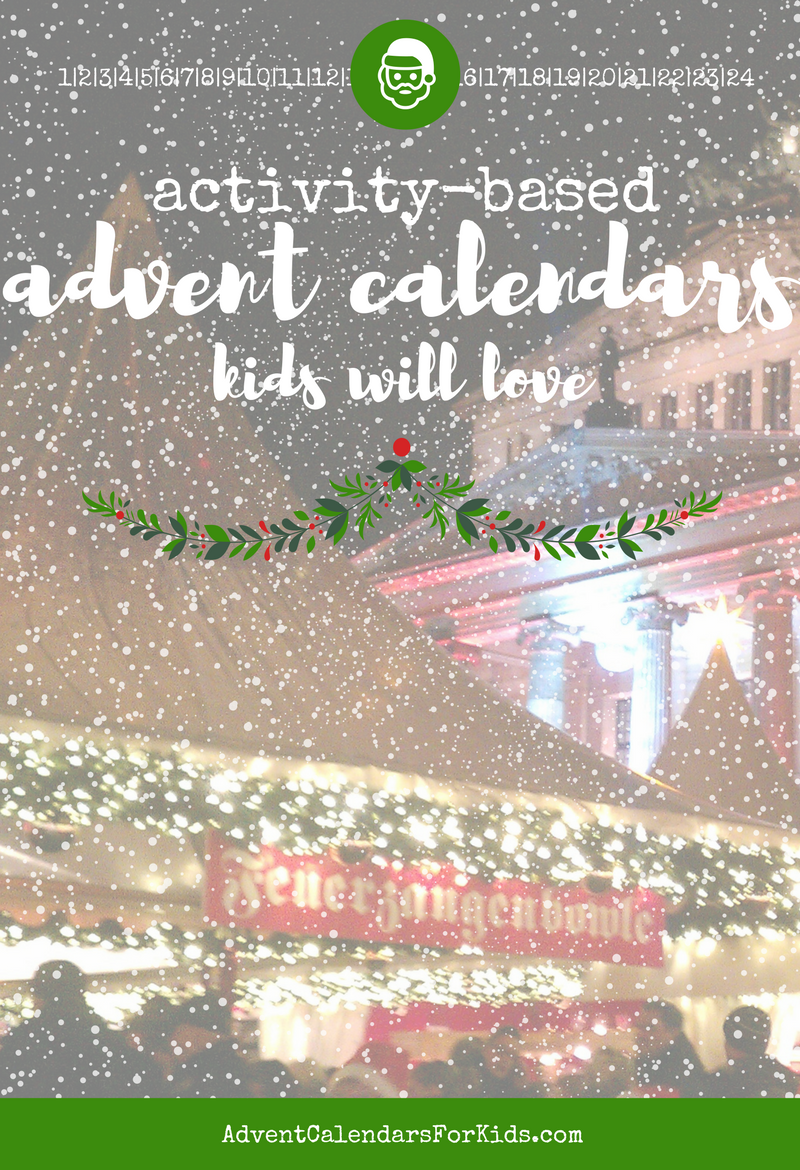 Activity-Based Advent Calendars Kids Will Love
