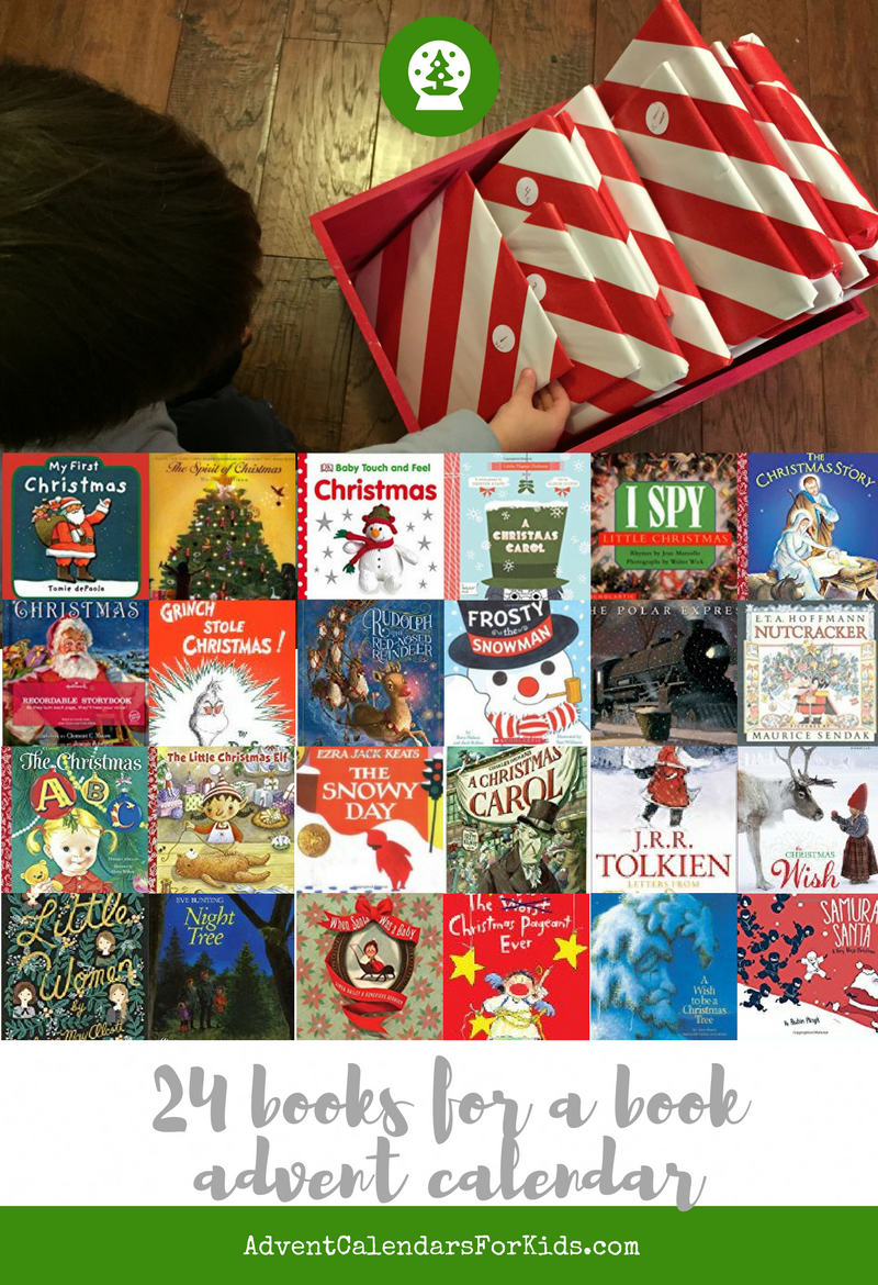 24 Books suggestions for a book-based Advent Calendar